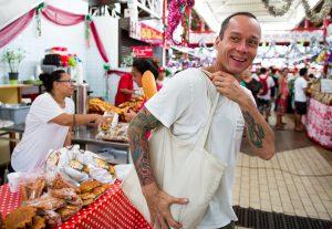 Chef and TV host Ed Kenney in Tahiti. Courtesy photo.
