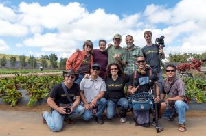 Crew of Family Ingredients, premiering on PBS June 22. Courtesy photo.