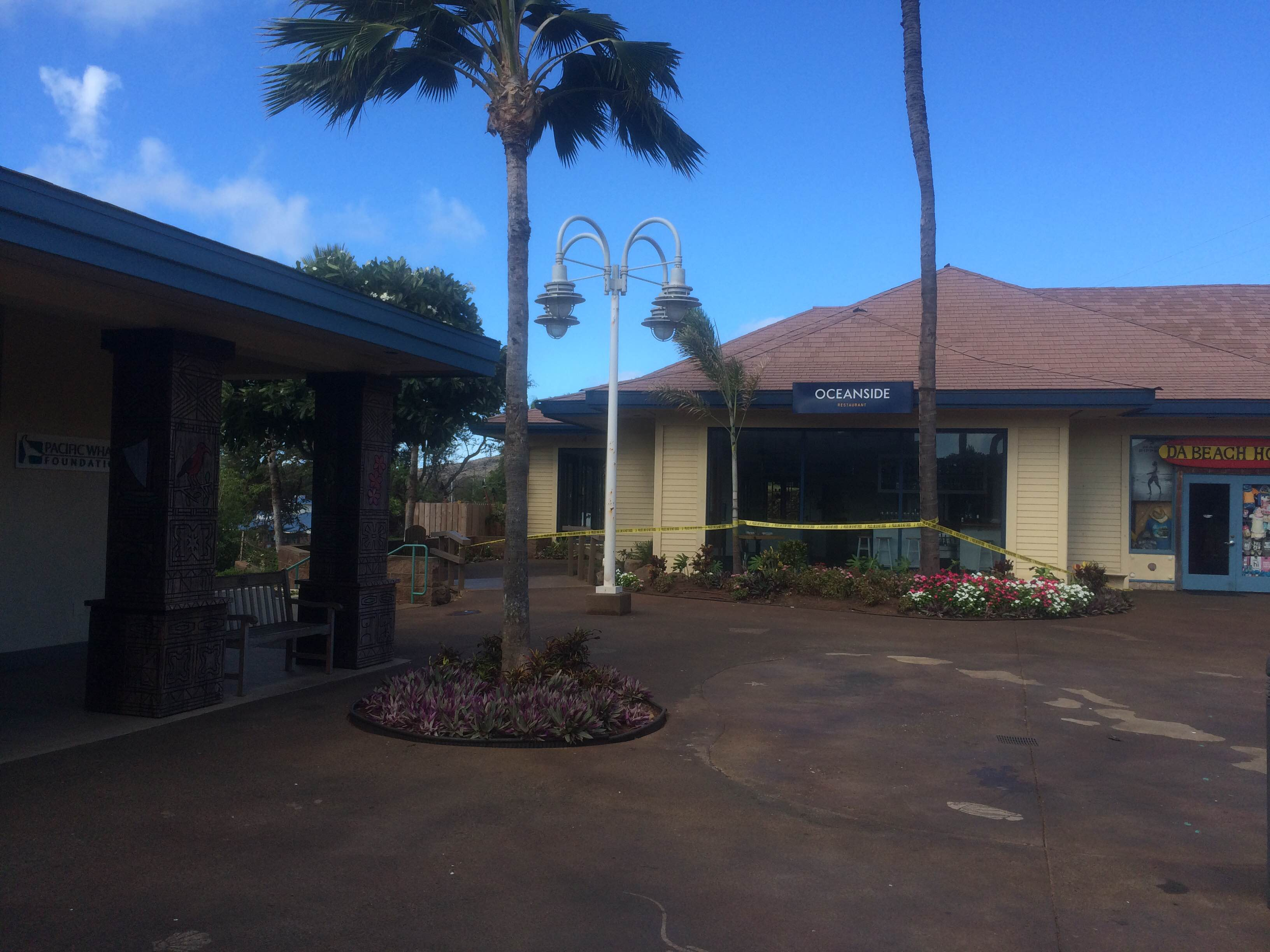 Oceanside Restaurant at Māʻlaea. Photo (6.24.16) credit: Kiaora Bohlool.