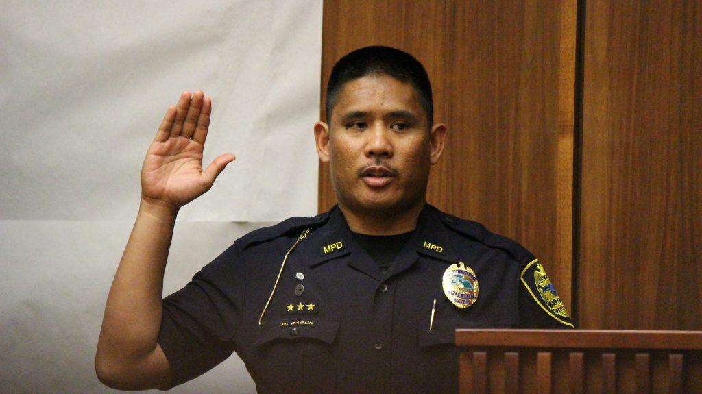 Detective Gordon Sagun. Photo by Wendy Osher (6.8.16)