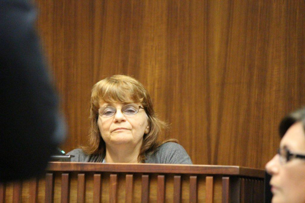 Linda Puppolo, witness (6.27.16) Photo by Wendy Osher.