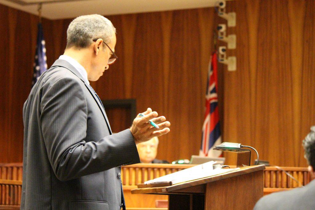 Defense Attorney John Apo (6.27.16) Photo by Wendy Osher.