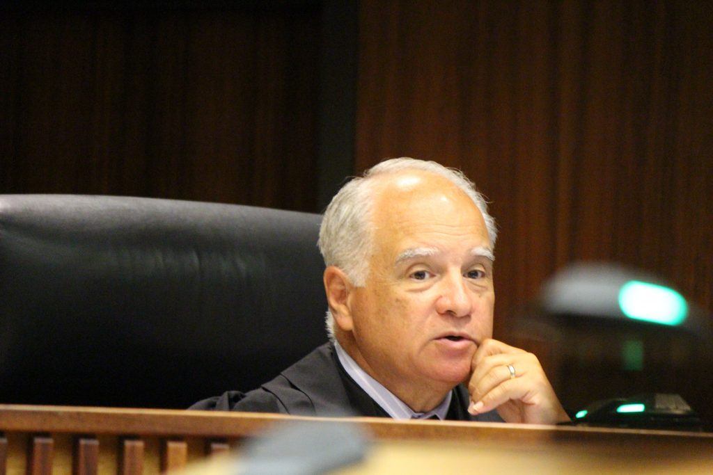 Judge Joseph Cardoza (6.27.16) Photo by Wendy Osher.