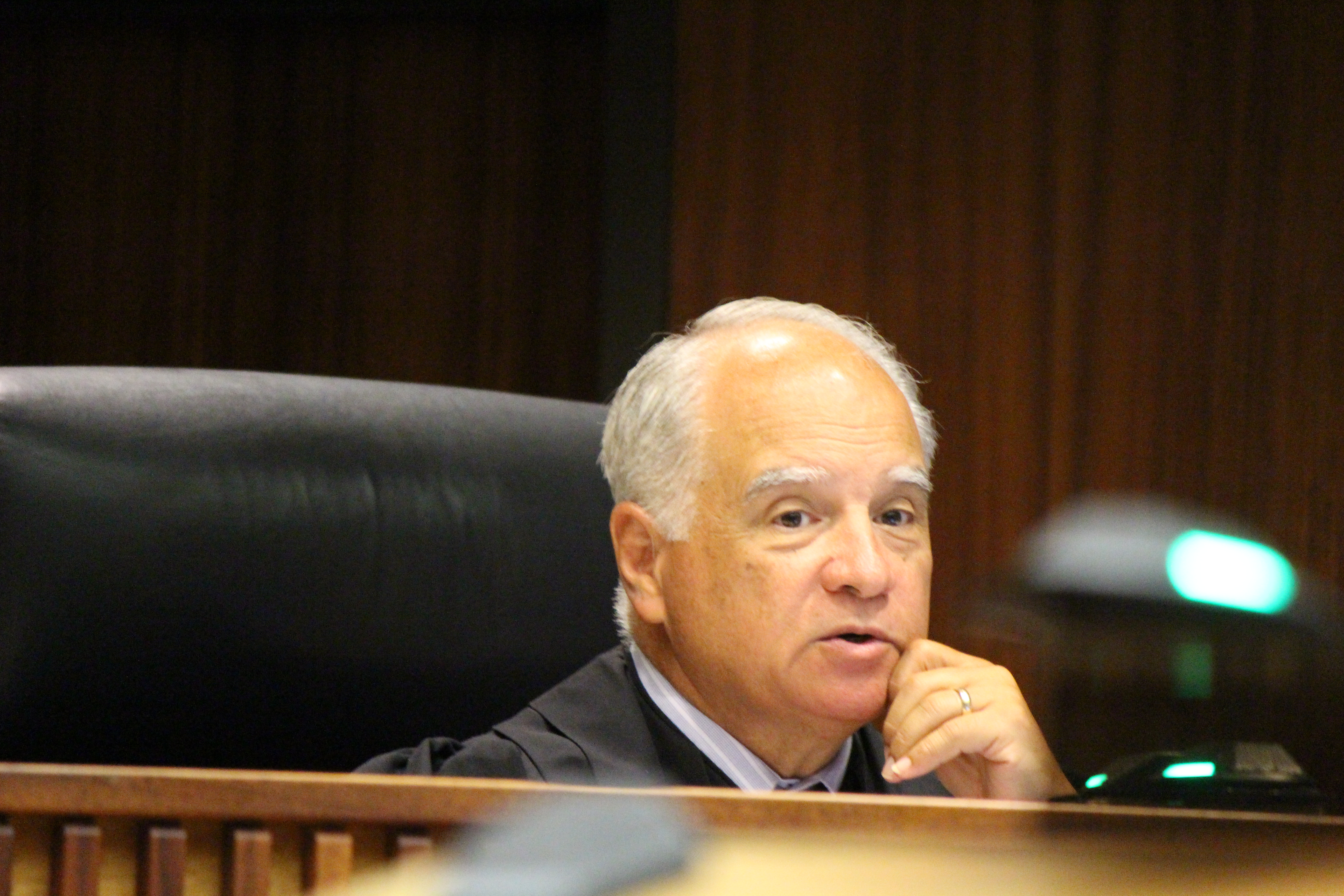 Judge Joseph Cardoza (6.27.16) Photo by Wendy Osher.
