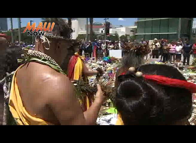 Lei of Aloha. Image credit: WFTV.com. Photographers: Dave Ater and Carl Hargrove.