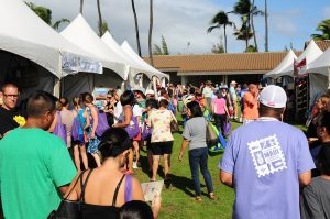 Each year, the Made in Maui County Festival attracts thousands of residents and visitors seeking locally made products by Maui County's businesses. Photo by Casey Nishikawa