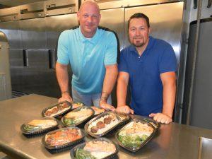 Tom Ockerman and David DeShong, co-founders of Mana Meals. Courtesy photo.