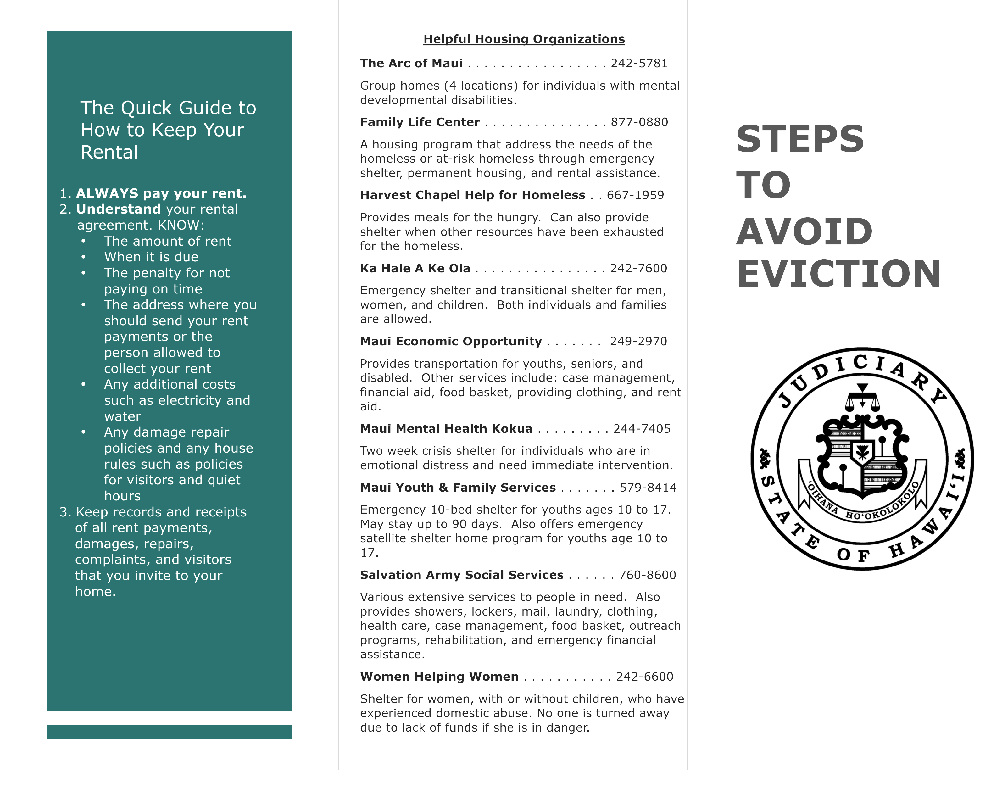 STAE Brochure Page 1. Click image to view in greater detail.