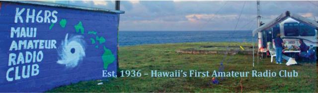 Photo courtesy: Maui Amateur Radio Club