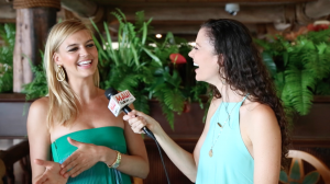 Malika Dudley interviews model & actress Kelly Rohrbach at the Maui Film Festival.
