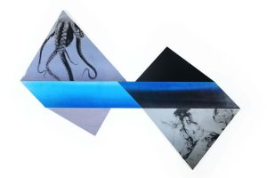 Tessellation_untitled atoll_mixed media_Sally Lundburg_Keith Tallett