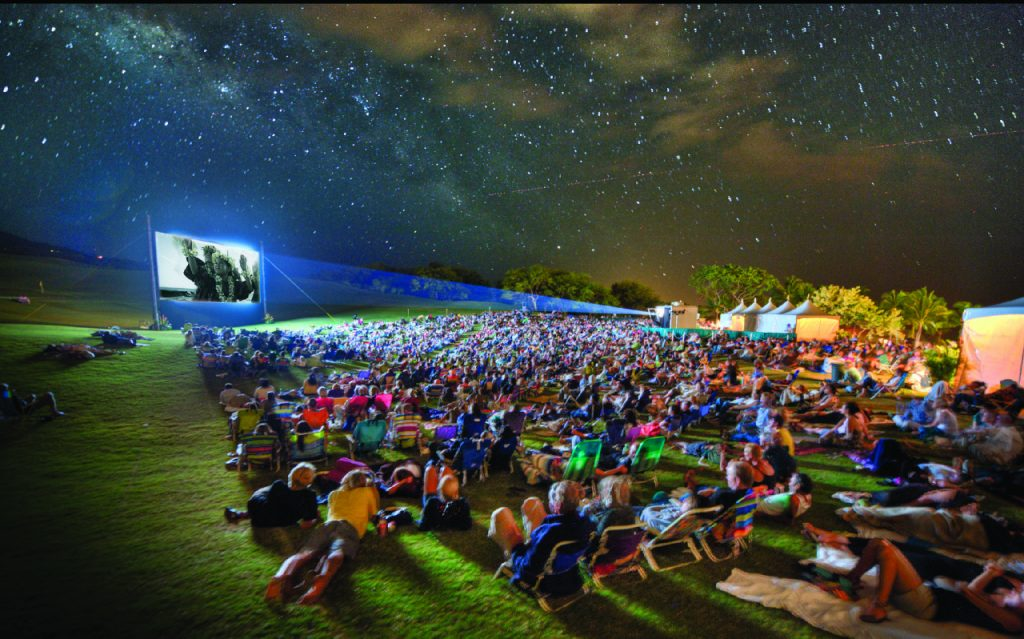 Celestial Cinema. File image credit: Maui Film Festival.