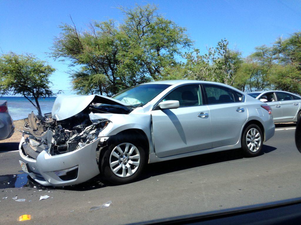 Honoapiʻilani traffic accident (6.7.2016) Photo credit: Harry