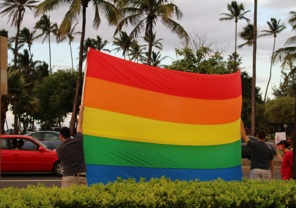 Gay rights. File photo by Wendy Osher.