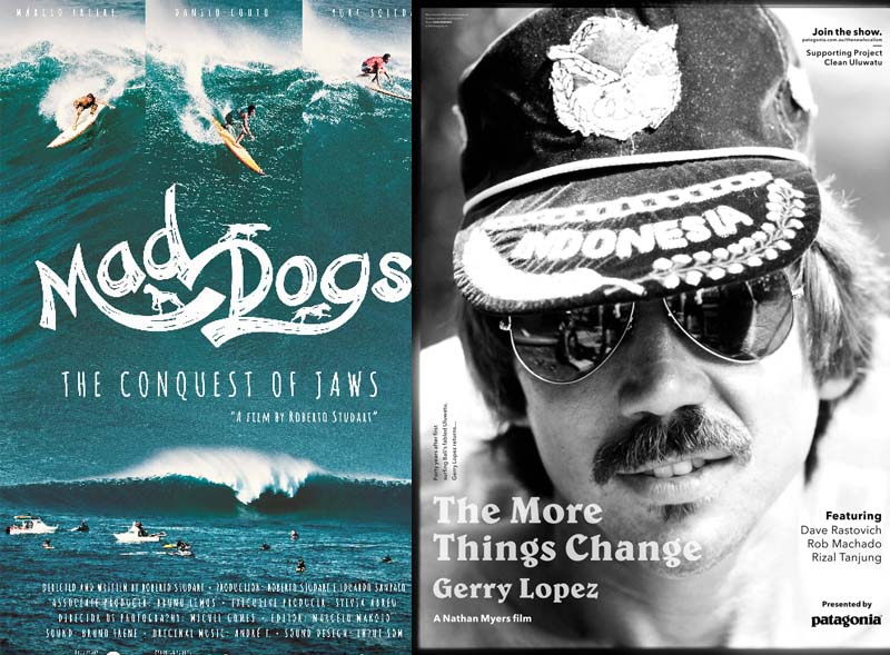 Mad Dogs and The More Things Change movie posters. Image credit: Maui Film Festival.
