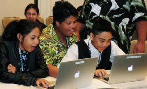 Adobe CS6 Illustrator Workshop is part of the STEMworks series of Summer Software Camps presented by Maui Economic Development Board's Women in Technology Project, in partnership with the Office of Naval Research, Hawaii State Department of Education. MEDB photo.