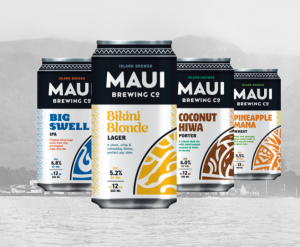 New branding for Maui Brewing Co. in Kīhei. Courtesy photo.
