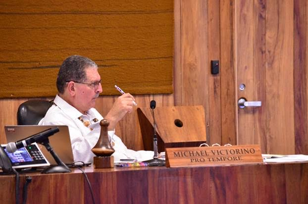 Maui Councilmember Michael Victorino. Photo courtesy Office of Council Services.