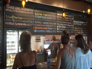Maui Brewing Co.'s tasting room. Photo by Kiaora Bohlool.