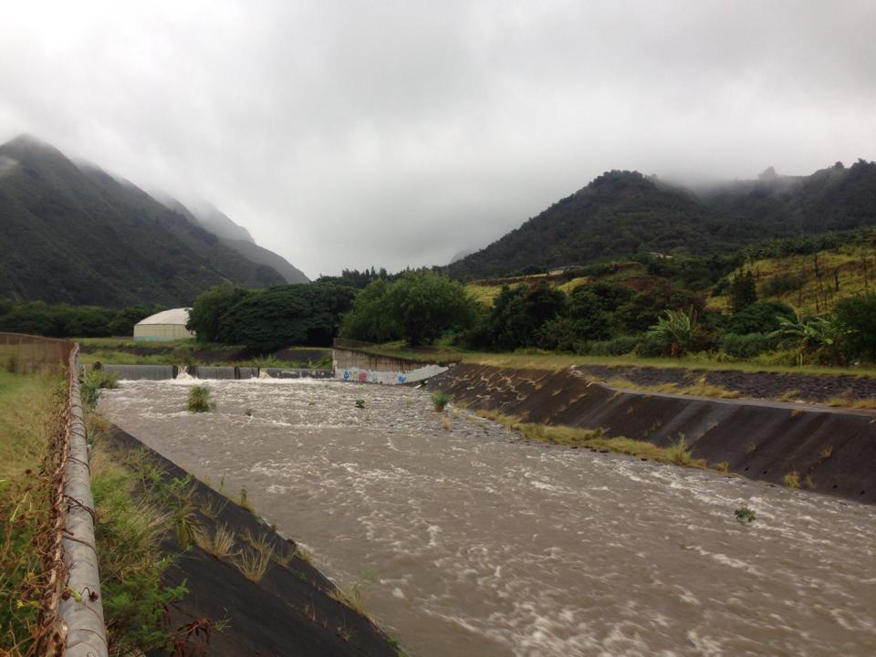 Wailuku (ʻĪao Stream) River. 7.23.16. Photo credit: Timo Nelson.