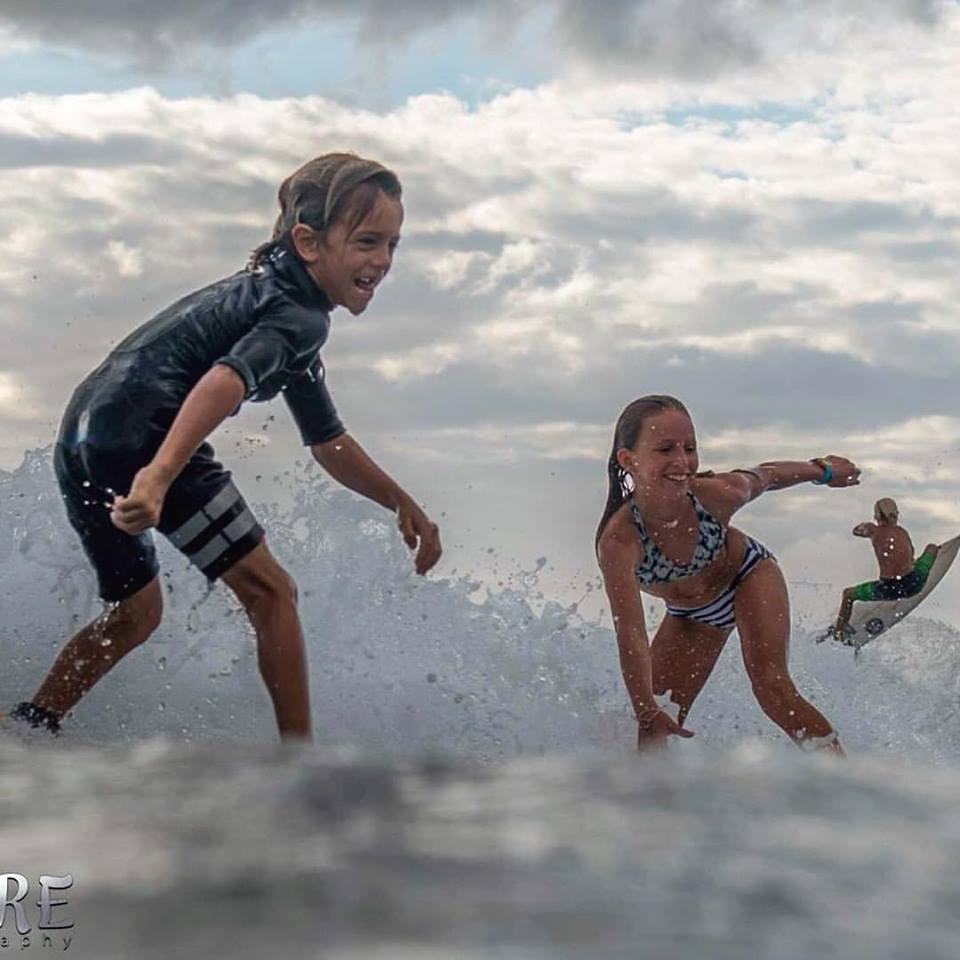 All about the fun! Photo: OneMore Photography