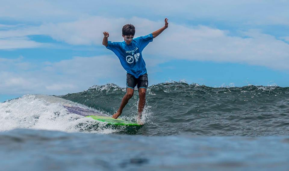Ty-Simpson Kane shows his talents no matter what size board he rides Photo: OneMore Photography