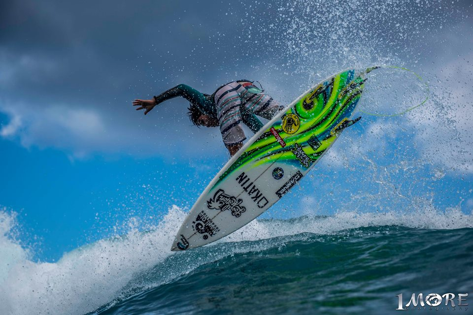 Ty Simpson-Kane aims for the sky. Photo: OneMore Photography
