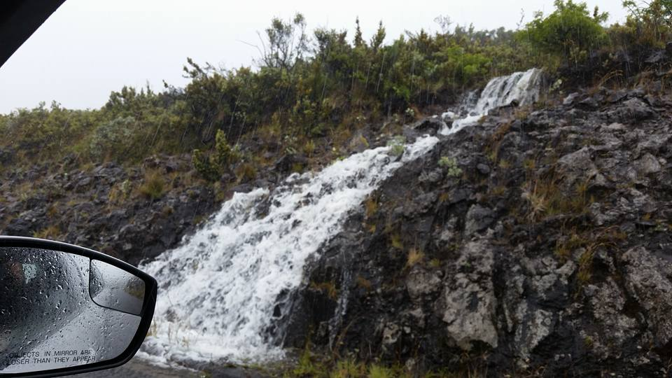 Haleakalā National Park, Darby storm impacts. 7.23.16. Photo credit: Gordean Kakalia