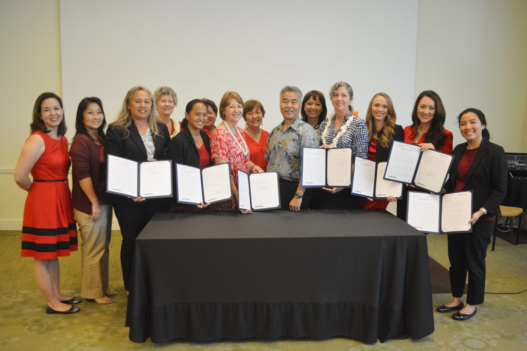 Hawai'i Women's Legislative Caucus (WLC). Photo Courtesy.