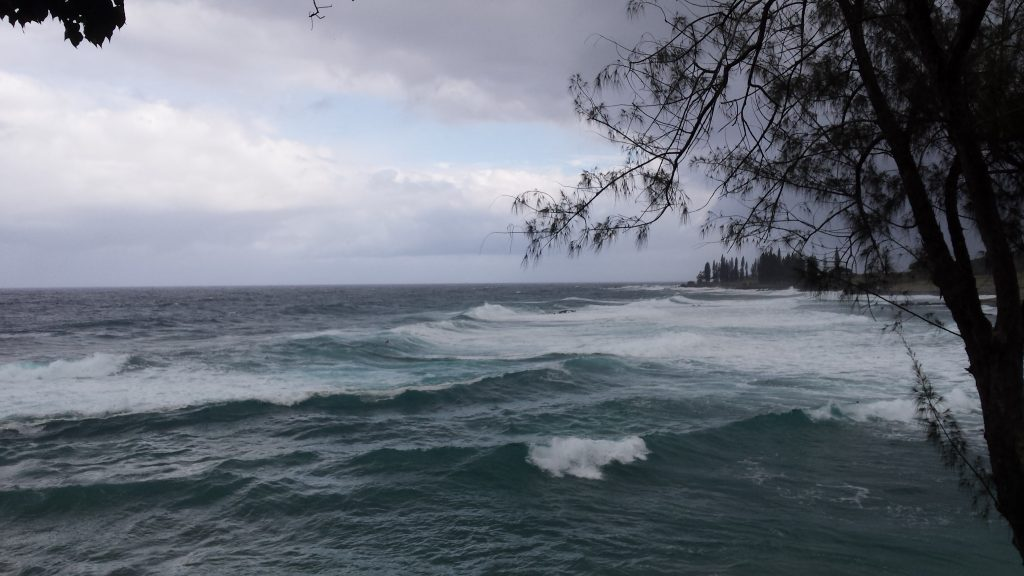 Darby storm impacts East Maui. 5:30 p.m. 7.23.16. Photo credit: Jackie Frost