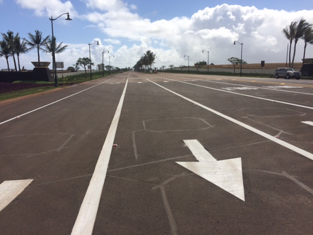 New Airport Access Road will be open to the public at tomorrow. Photo Courtesy.