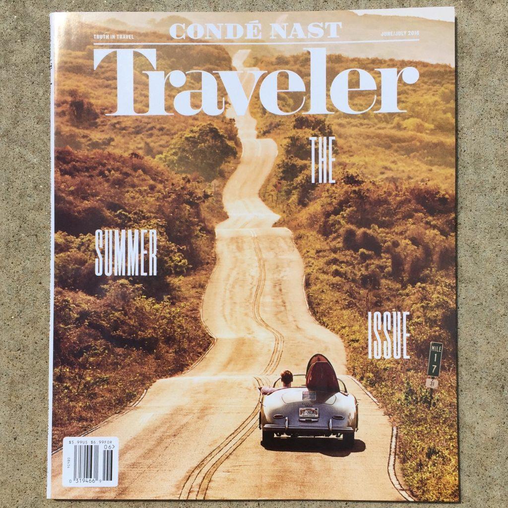 CN Traveler cover Jun-Jul 2016