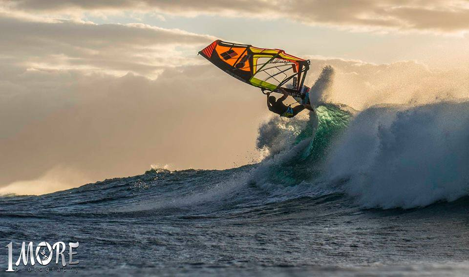 Camille Juban sails into the sunset Photo: OneMore Photography