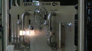Equipment at Maui Brewing Co. Photo by Kiaora Bohlool.
