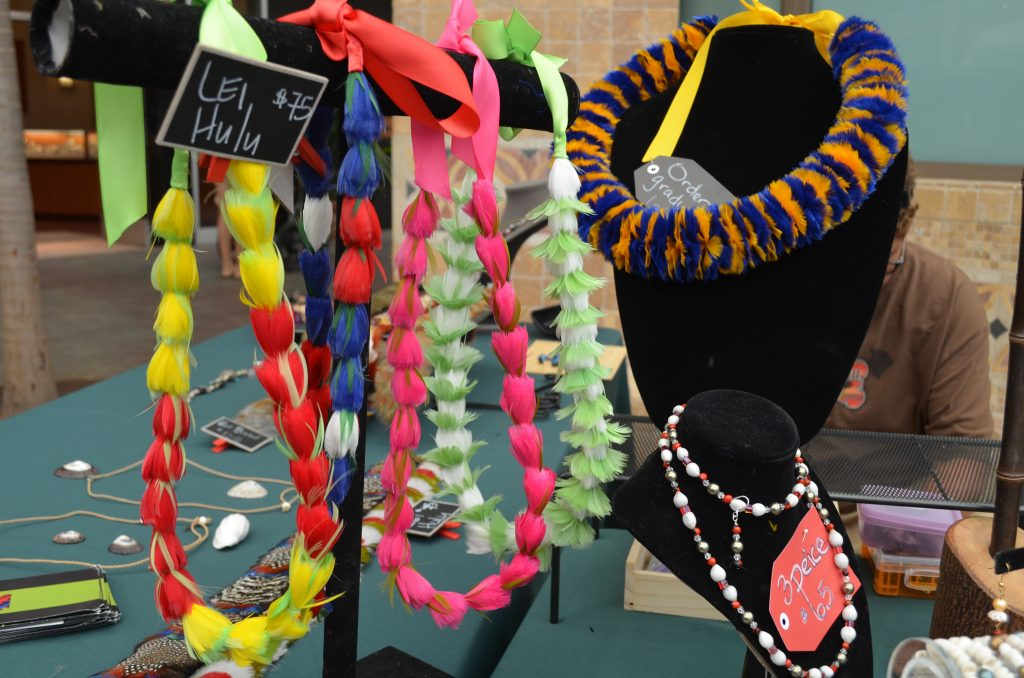 Maui Made Jewelry featured at Maui Made Sundays at Queen Ka'ahumanu Center. Photo Courtesy.