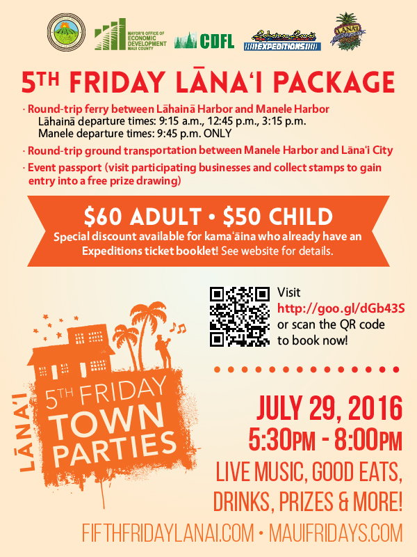 Fifth Friday Flyer