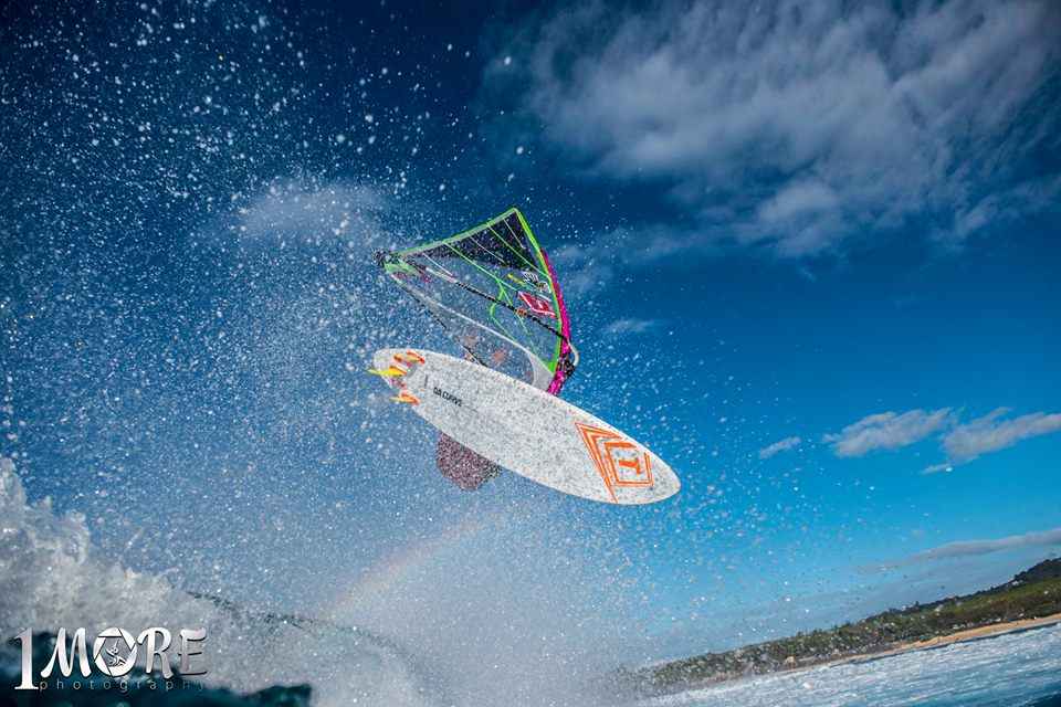 Graham Ezzy looking for a soft landing Photo: OneMore Photography