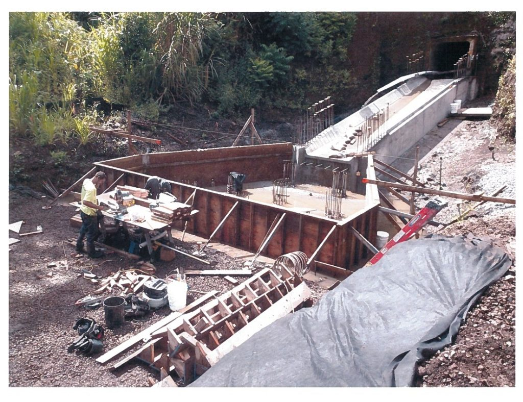 Haʻikū culvert and embankment repairs project. Photo credit: County of Maui Department of Public Works.