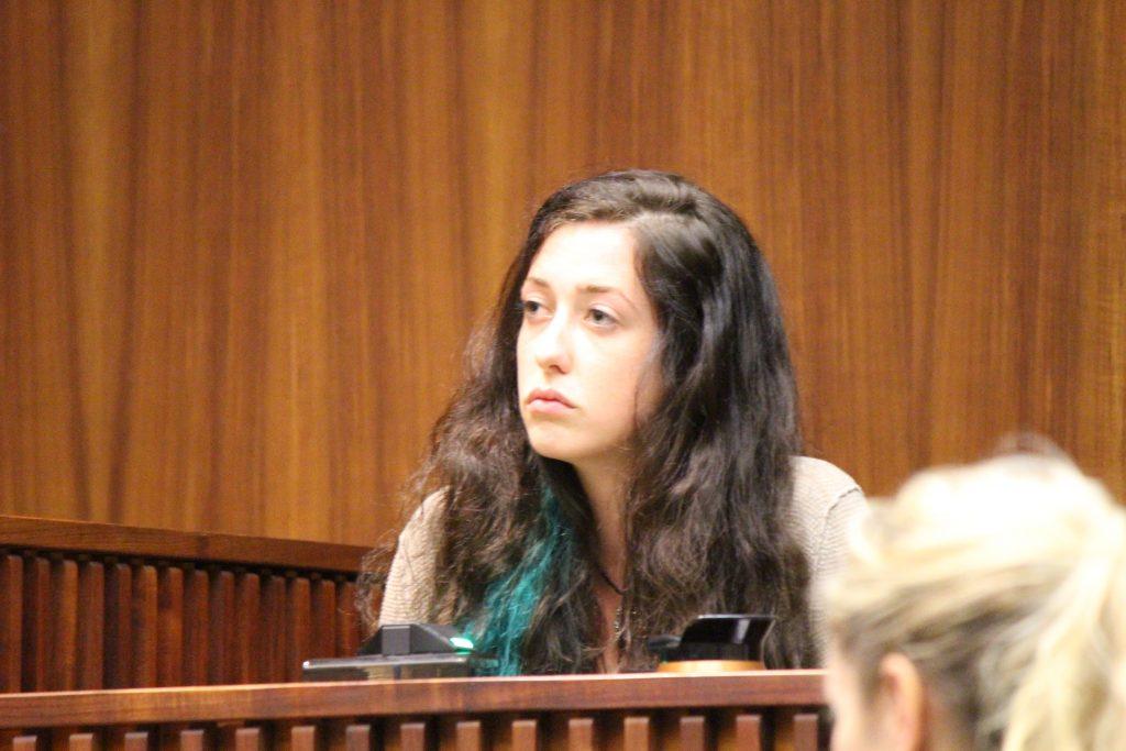 Phaedra Wais, sister of Charli Scott. Photo 7.18.16 by Wendy Osher.