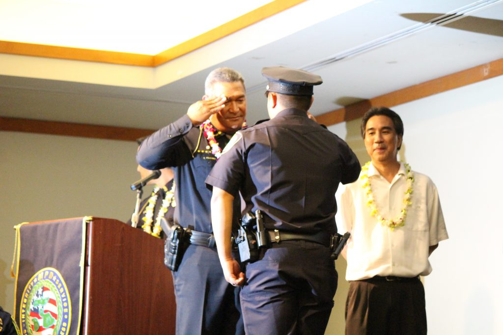 Maui Police Department 83rd Recruit Class and Emergency Services Dispatchers Graduation. Photo by Wendy Osher.