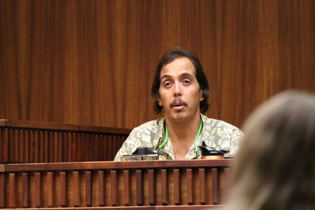 Albert Young testified on Wednesday, July 27, 2016 in the murder trial of Steven Capobianco. Photo: 7.27.16 by Wendy Osher.