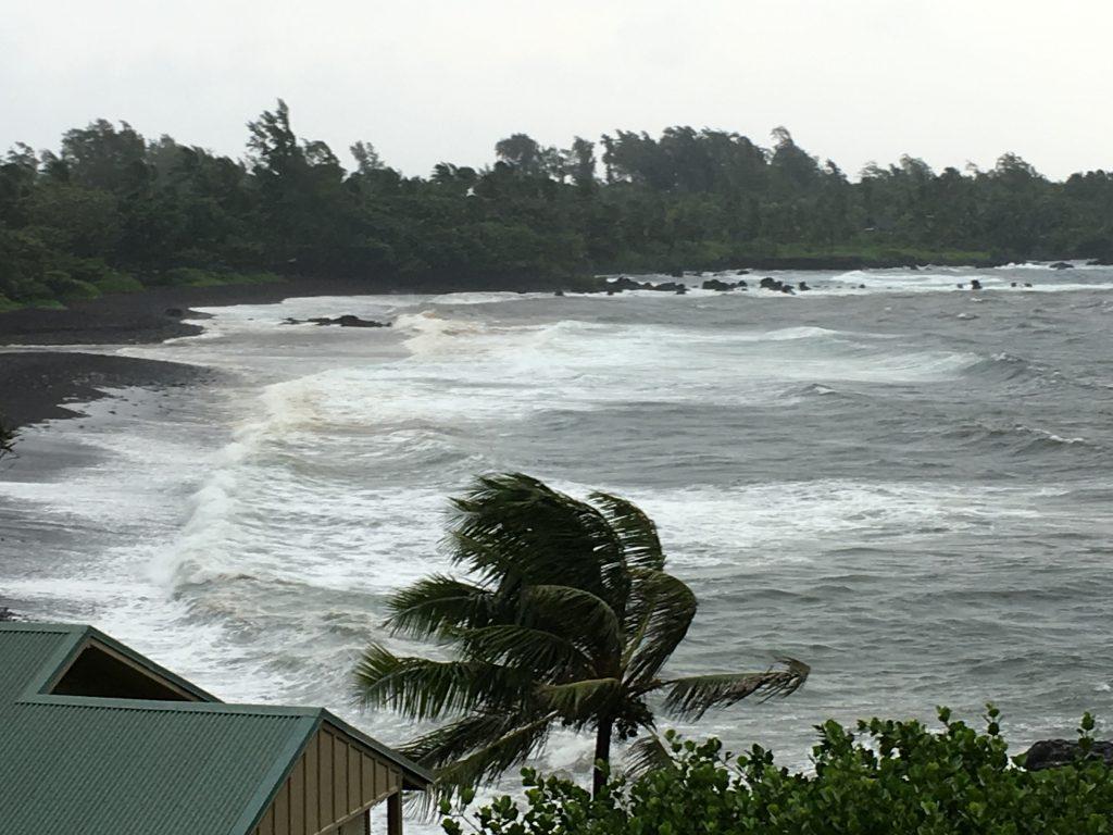 Hāna Bay, East Maui, 7:25 a.m. 7.24.16.  Photo credit: Yuri Popov
