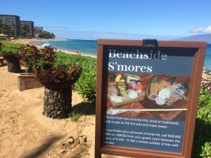 Sheraton Maui Resort & Maui offers beachside S'mores kits for the summer. Photo by Kiaora Bohlool.