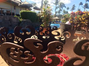 Fire pits used to roast S'mores at Sheraton Maui Resort & Spa in Kā'anapali. Photo by Kiaora Bohlool.