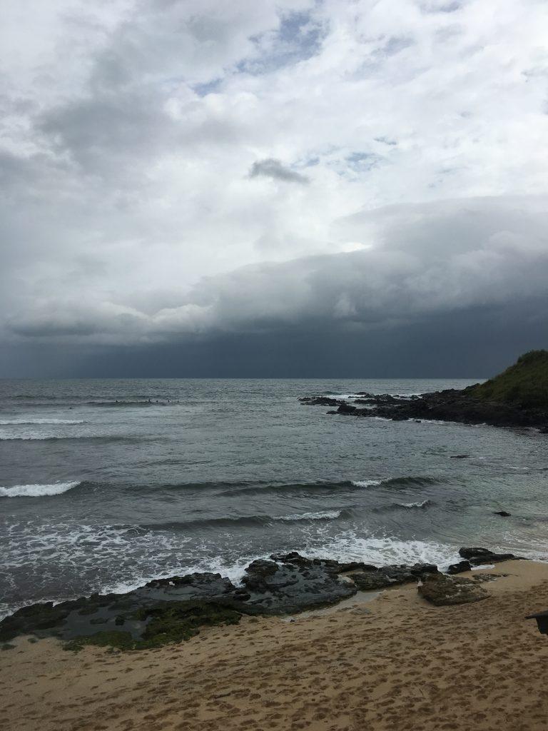 Tropical Storm Darby, Hoʻokipa, Maui 9:30 a.m. 7.24.16. Photo credit: Maui County Ocean Safety