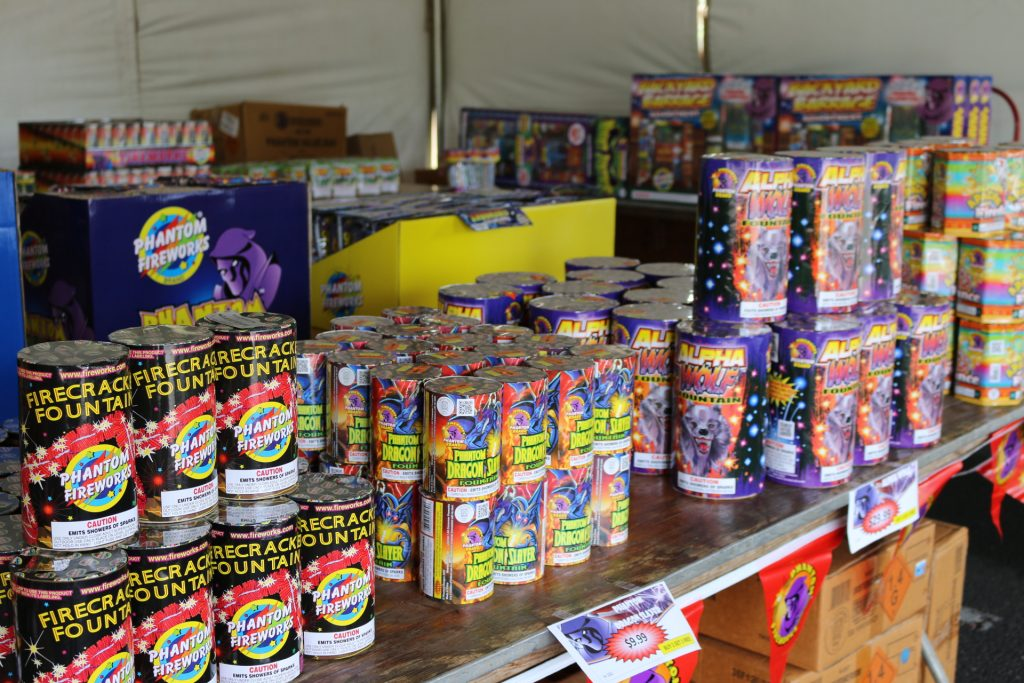 Legal fireworks in Maui can be purchased at the Phantom Firework tent at Queen Kaʻahumanu Center until 8 p.m. Monday, July 4.