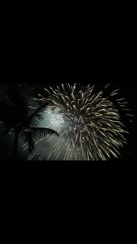 Fireworks over Maui. Photo Courtesy: Theresa Serianni