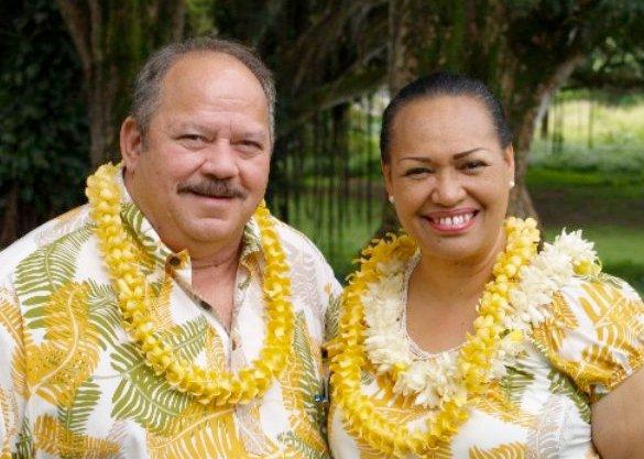Larry and Hoku DeRego. Courtesy photo.