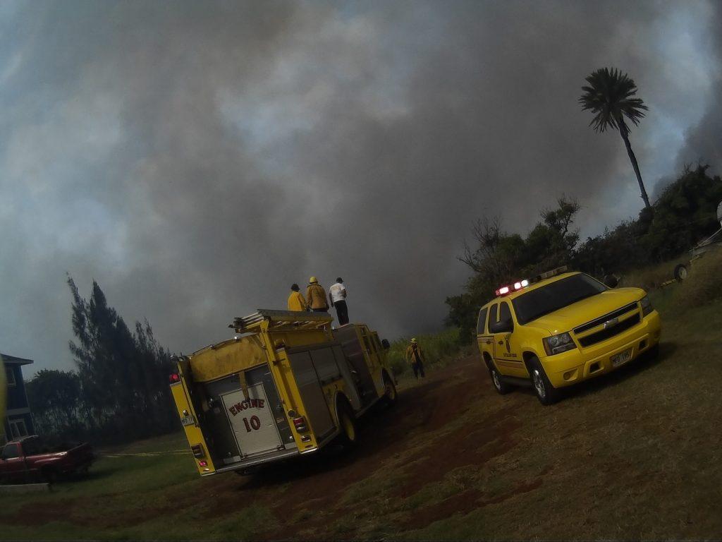 PC: Maui Fire Department