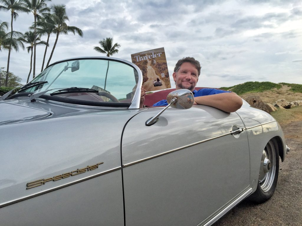 Maui Roadsters owner Larry Lutz in Hoku 6